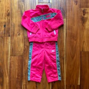 Nike Girls 18 month Pink  Jump Suit